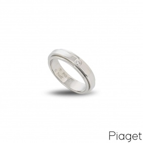 Piaget Diamond Set Possession Ring in Platinum